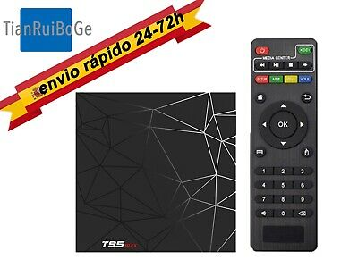 T95 MAX Android 9.0 Smart TV BOX H6 Quad Core 2.4G WIFI 6K HDR 4+32/64GB
