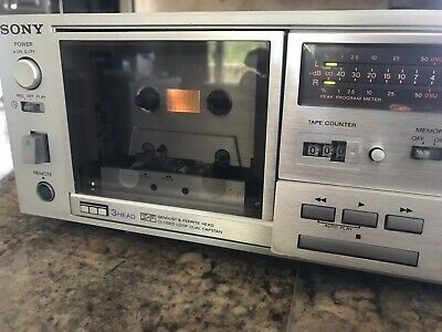 Sony TC-K81 3 Head Stereo Cassette Deck Manual Calibration For Repair