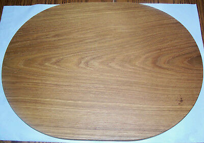 Handmade White Oak Solid Wood Oval Cutting Board