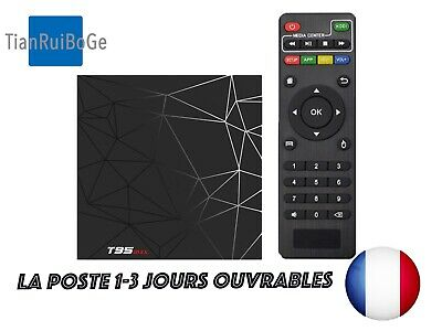T95MAX Android 9.0 Smart TV BOX H6 Quad Core 2,4G WIFI 6K HDR Amlogic S905