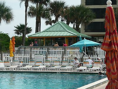 Ocean Front Ocean Rental Florida Vacation Condo $480 Gated Resort Pool One BR