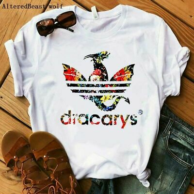 a6cc75eedc Dracarys T-Shirt Sport Game Of Thrones Women Game Summer Mother of Dragon  New
