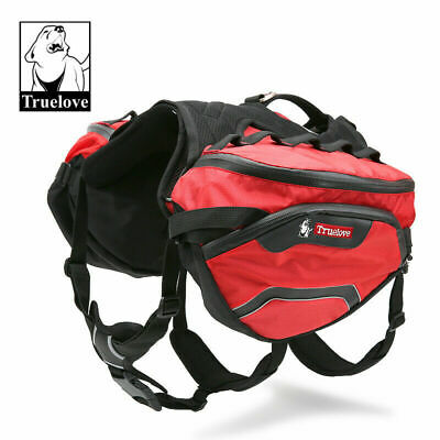 Genuine Truelove Dog Travel Backpack Saddle Outdoor Harness S M L 2 Colours
