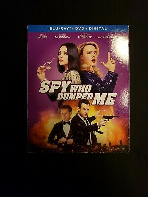 The Spy Who Dumped Me Blu Ray+Dvd W/Slipcover And Digital Copy, L62 F2.