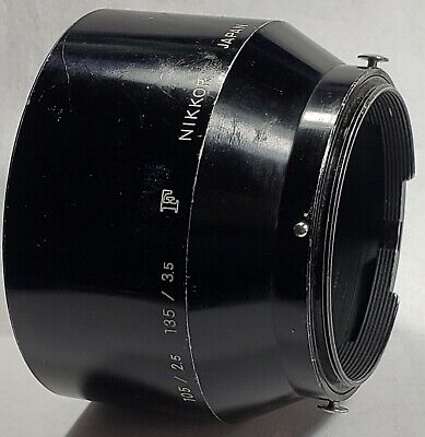 Nikon Lens Hood / Shade For 105mm f/2.5 - 135/3.5 NIKKOR Japan Lens