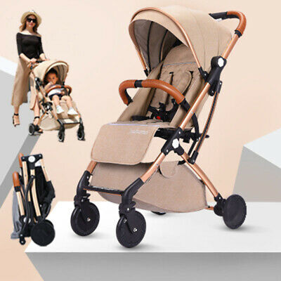 New Portable Compact Lightweight Jogger Baby Stroller Pram Travel Carry-on Plane