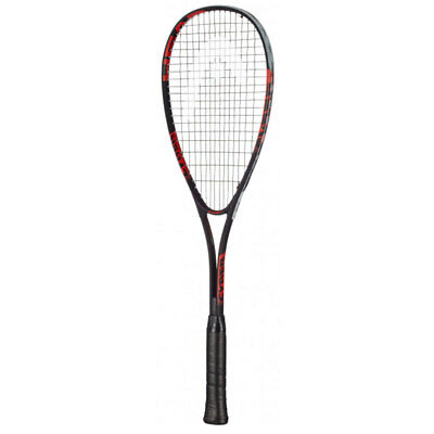 Head Cyber Edge Adult Squash Racket/Racquets w/ Cover/Case Black/Grey/Red