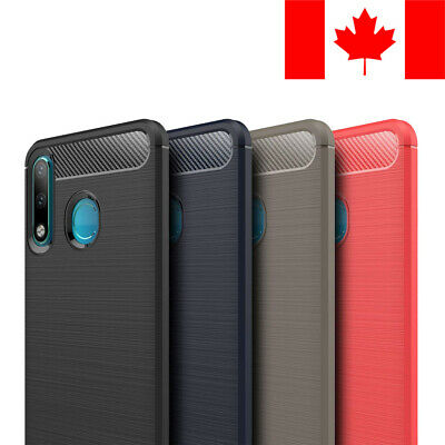 Brushed Tpu Soft Case Cover Skin For Huawei P30 Lite