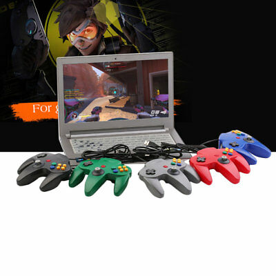 Good N64 USB Wired Gaming Gamer Gamepad Computer PC Gaming Controller RV