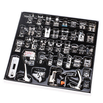 42pcs Domestic Low Shank Sewing Machine Presser Feet Set for Simplicity Kenmore