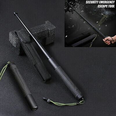 "22""Retractable Telescopic Hiking Security Stick Self-Protector Outdoor Tool"