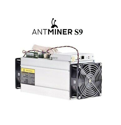 SALE Bitmain Antminer S9 13.5TH/s ASIC Bitcoin SHA-256 Miner + Original PSU