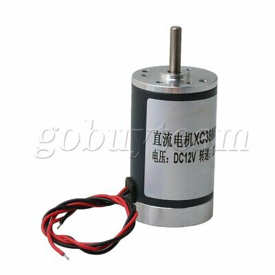 2000RPM Electric Brush Gear Motor High Speed 5x20mm Shaft DC12V 5.5W