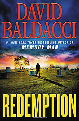 Redemption (Memory Man series) Hardcover by David Baldacci, FREE SHIPPING