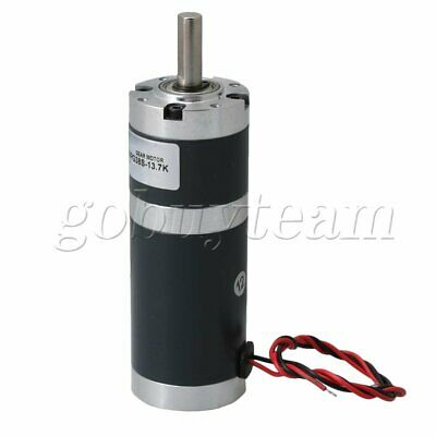 XC38PG38S DC12V 350RPM 8mm Shaft Dia Planetary Gearbox Reduction Motor