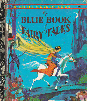 VINTAGE LGB LITTLE GOLDEN BOOK SYDNEY No.220 THE BLUE BOOK OF FAIRY TALES