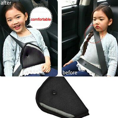 UK Car Children Safety Seat Cover Harness Strap Adjuster Pad Kids Seat Belt Clip
