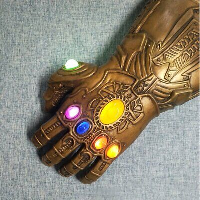 2019 Thanos Infinity Gauntlet Marvel Legends Gloves Avengers4 Figure & LED LIGHT