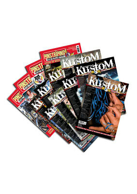 Pinstriping & Kustom Graphics Magazine Bumper Pack ( 15 )