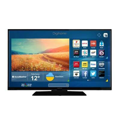 """Digihome 43"""" 4k LED TV 43UHDHDR with Freeview HD & Freeview Play"""