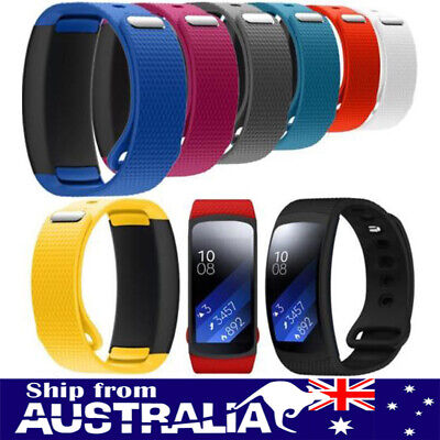 AU Replacement Silicone Wrist Band Strap For Samsung Gear Fit 2 SM-R360 Watch se