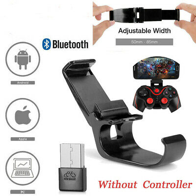 Wireless Bluetooth Gamepad Controller Receiver Phone Tablet for Android IOS PC