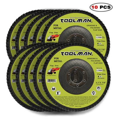 10pcs Fiber Reinforced Resin Cutting Disc Wheel For Angle Grinder Cut Off Metal