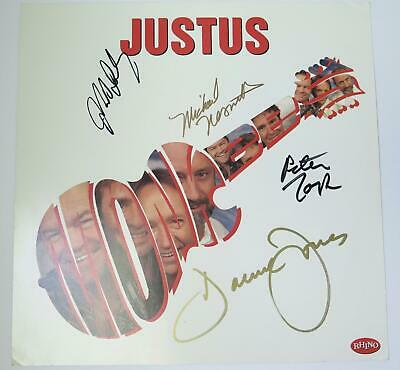 "THE MONKEES Signed Autograph ""Justus"" 12x12 Poster Flat by All 4 Davy Jones +"