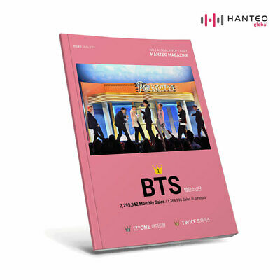 BTS HANTEO Magazine Coverman Bangtan Boys June 2019 issue + Preorder Benefit