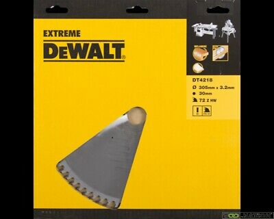 DeWalt DT4218-QZ - 305mmx72Tx30mm Hollow Ground, Melamine/laminate