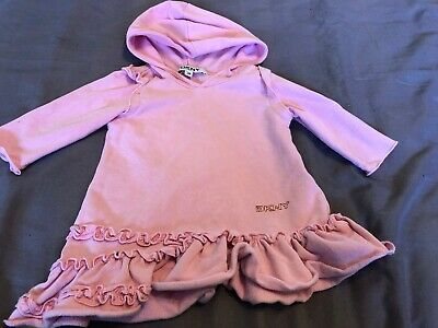 DKNY Baby girl dress pink 3months designer baby girls clothing USED