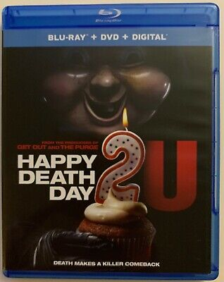 Happy Death Day 2U Blu Ray 1 Disc Only Free World Shipping Buy It Now Horror