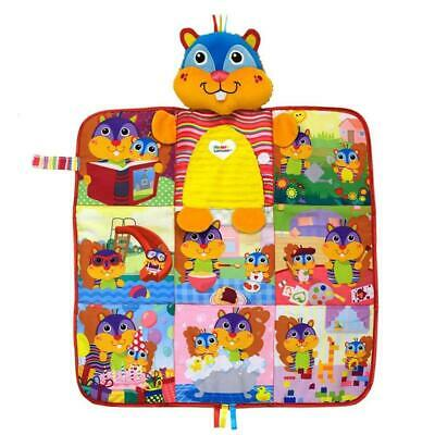 Lamaze Pierres Perfect Day Blanket Book Friend