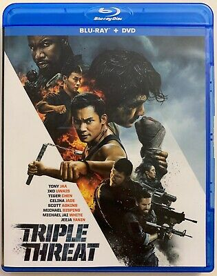 Triple Threat Blu Ray 1 Disc Only Free World Wide Shipping Buy It Now Action