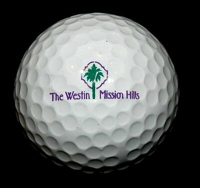 THE WESTIN MISSION HILLS GOLF RESORT LOGO GOLF BALL - Rancho Mirage, CA