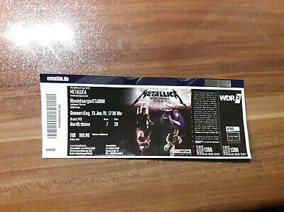 Ticket für METALLICA in Köln - 13.06.2019
