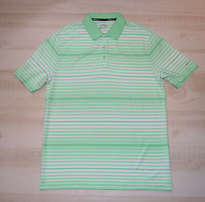 4c9cc7be SOLD OUT Nike Men KEY BOLD HEATHER STRIPE POLO Dri Fit Golf S/S Green