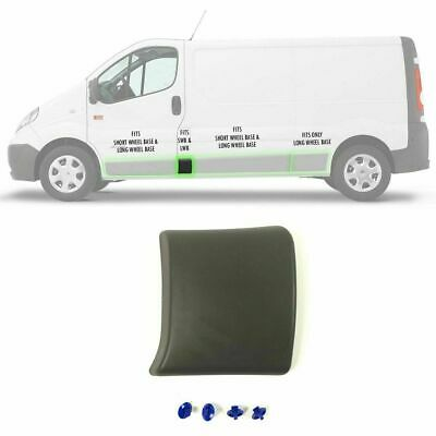 Left Side Central Trim Moulding Panel for Renault Trafic II 2002-2013