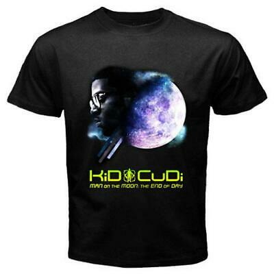 2d5ea878 KID CUDI MAN On The Moon End Of Day Black T-Shirt 2XL New Official ...