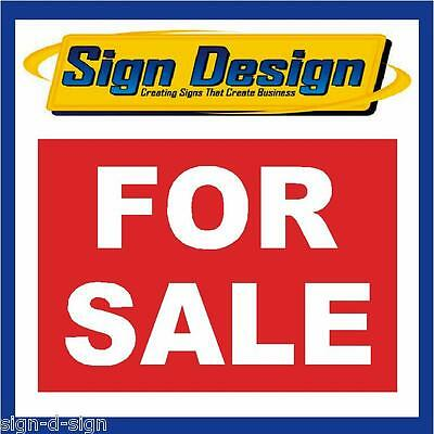 White 30x20cm MQ-295 For Sale Plastic Sign Red