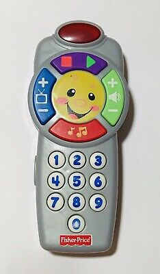 Fisher Price Laugh and Learn Learning Click N Learn Musical TV Remote NIB KIDS