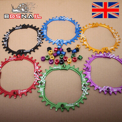 UK 30T 104bcd Narrow Wide Chainring MTB Bike Chainset For SHIMANO/SRAMCrank