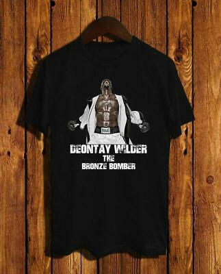 73b91ac266be New Deontay Wilder The Bronze Bomber T-Shirt Size S M L Xl 2Xl Usa Size