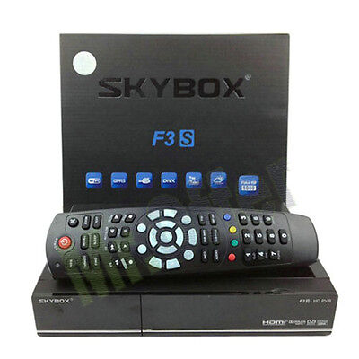 Decoder satellitare skybox F3s  ricevitore Full HD linux wifi TV televisore