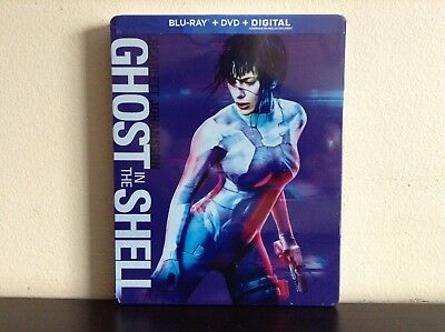 Ghost in the Shell - Steelbook (Blu-ray Combo) *NEW*