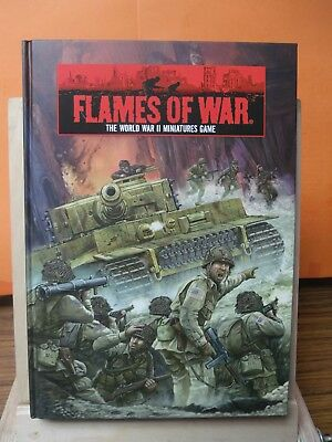 (090) Flames of War core rule book Hardcover WWII 2nd Edition BOOK (2006)