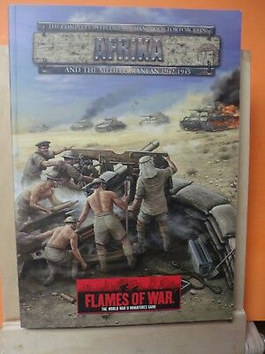(093) Flames of War AFRICA 1942-1943 SOFT COVER BOOK