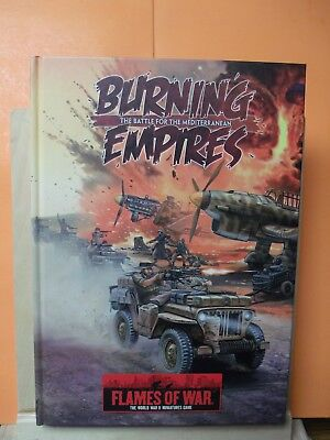 (091) Flames of War Burning Empires HARD COVER BOOK