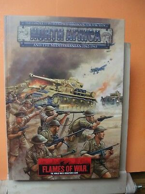 (092) Flames of War NORTH AFRICA 1942-1943 HARD COVER BOOK (2009)