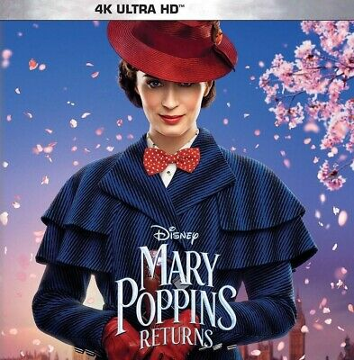 Mary Poppins Returns - Disney (4K Ultra HD - DISK ONLY, 2019) Emily Blunt